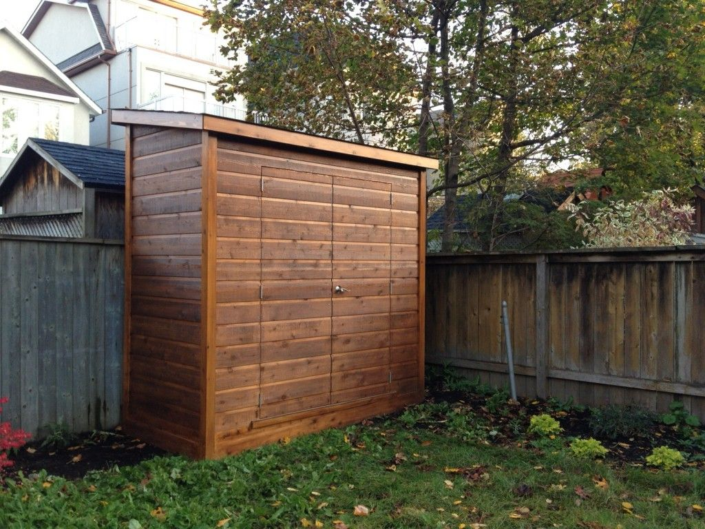Lean To Shed Modern Small Kit