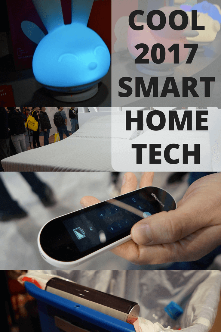 A smart bed, smart trash can, and plenty of other smart home gadgets impressed…