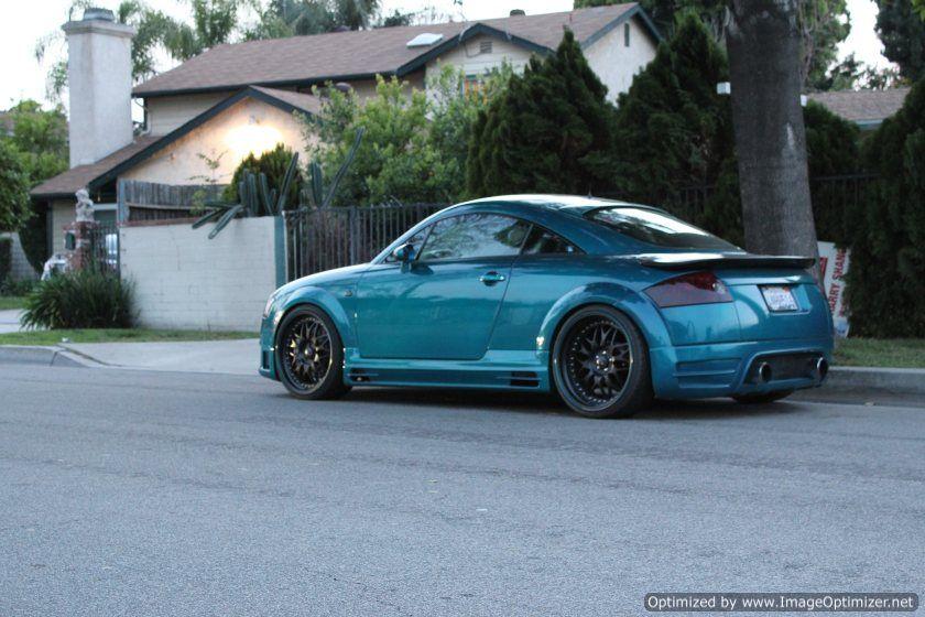 Fourtitudecom Audi TT Quattro T GTR Custom Paint - 2001 audi tt quattro
