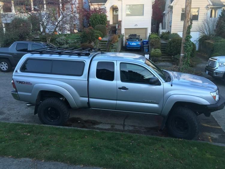 Tacoma 2nd 3rd Gen Top Rack 5 Bed In 2020 Toyota Tacoma Bumper Toyota Tacoma Toyota Tacoma Roof Rack
