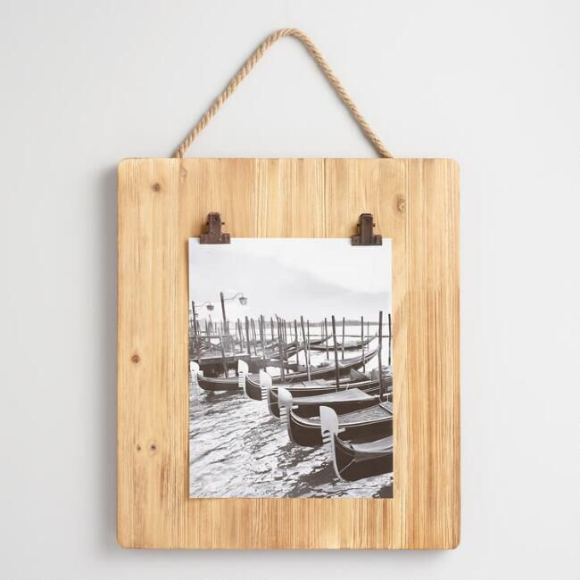Wood Clipboard Card Holder Wall Decor | Rustic Decor | Pinterest ...