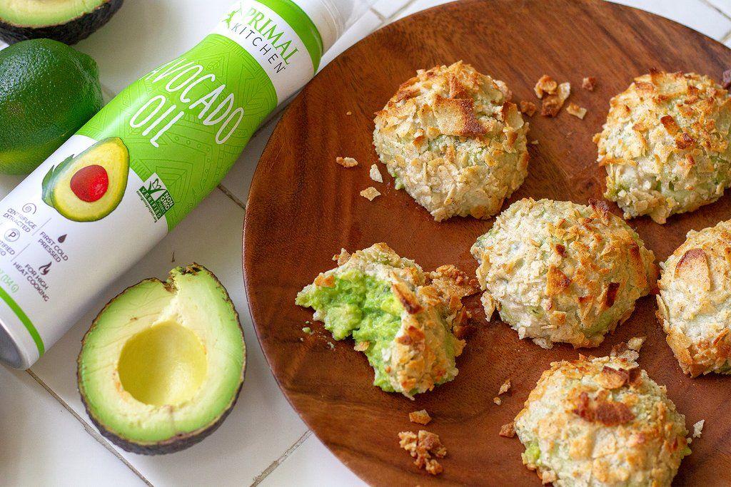 (Air) Fried Guacamole Guacamole bites, Appetizer bites