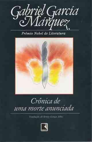 Cronica De Uma Morte Anunciada De Gabriel Garcia Marquez Livros