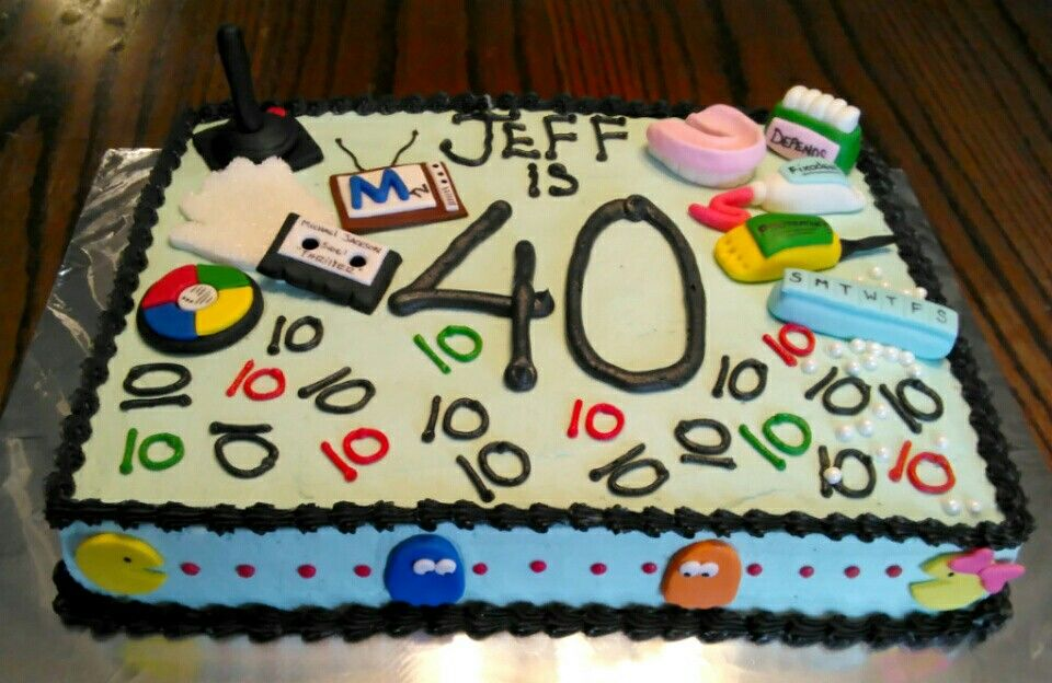40th Leap Year Birthday Cake Leap Year Birthday Cake 40th Birthday