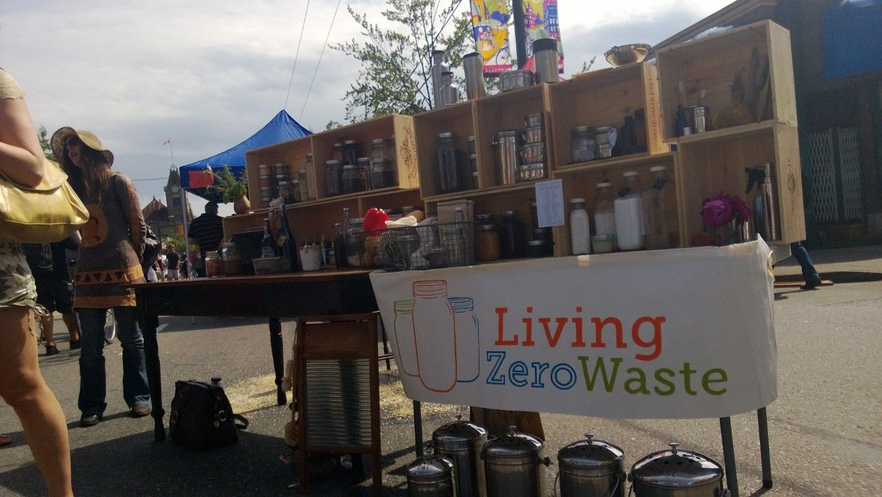 Living Zero Waste Display Vancouver