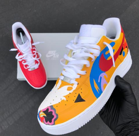 Giveaway Winner Design! | Nike shoes air force, Custom