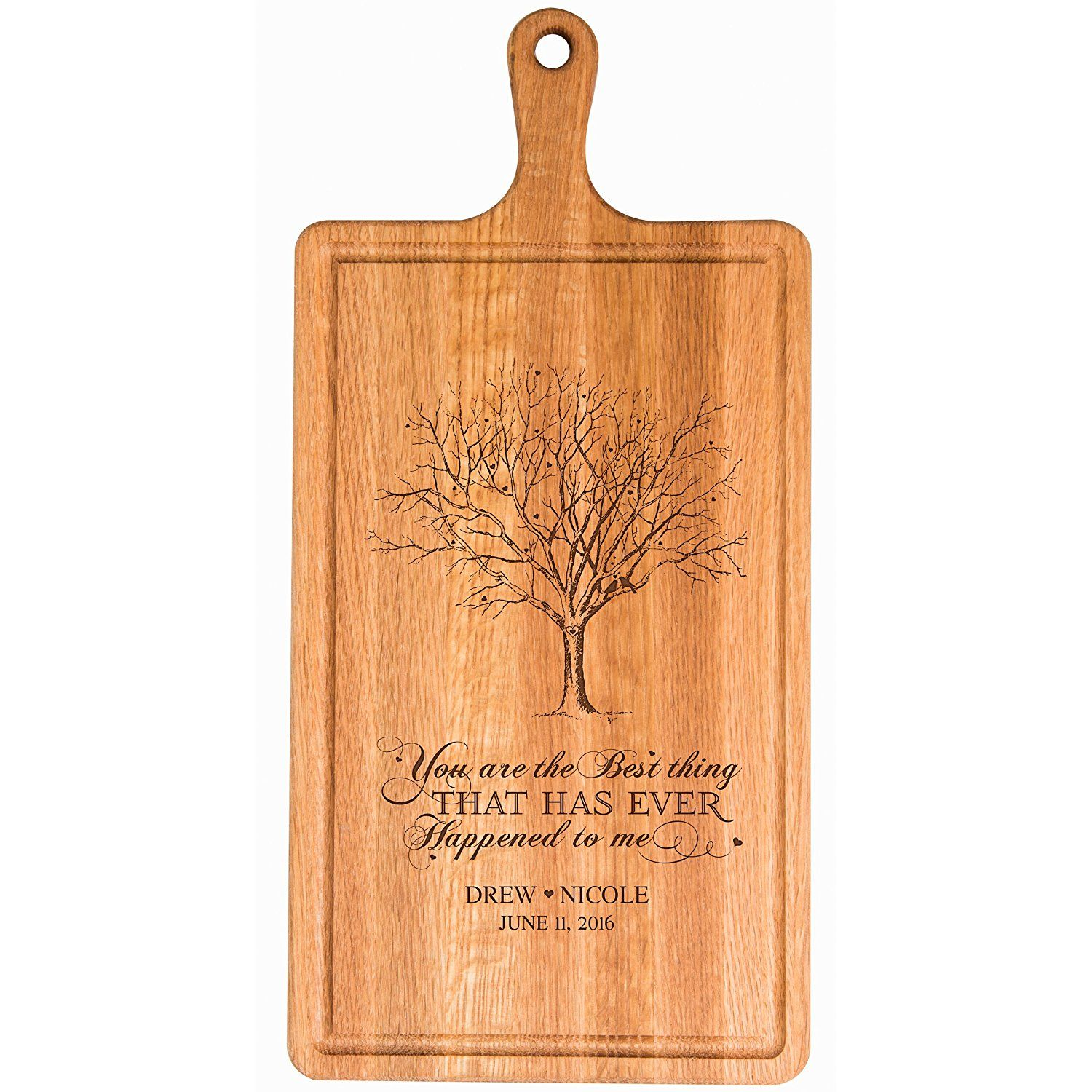 Happy Anniversary Real Wood Greeting Card with Stand best