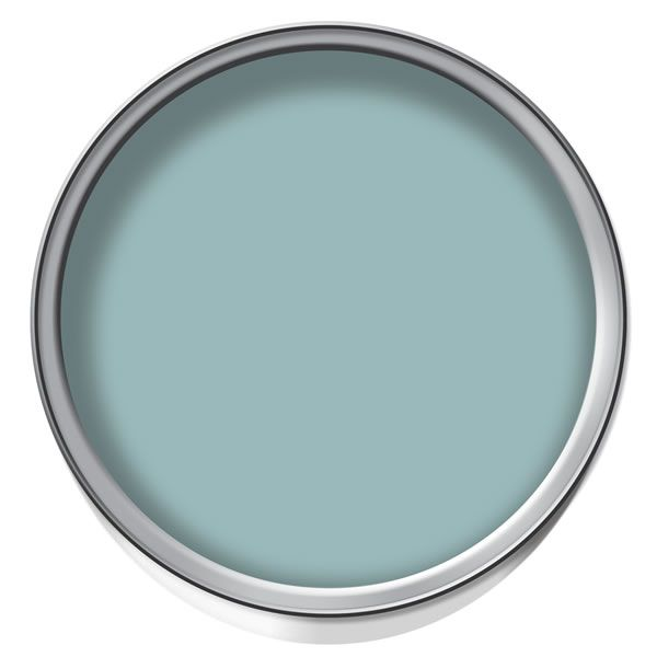 Crown Kitchen Bathroom Paint In Olive Press Green And: Dulux Blue Reflection