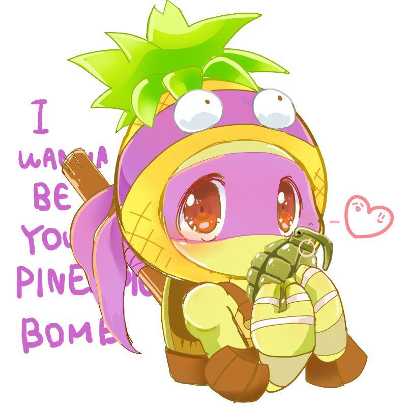 I wanna be your Pineapple Bomb by curamix666.deviantart.com on @DeviantArt   TMNT 2012