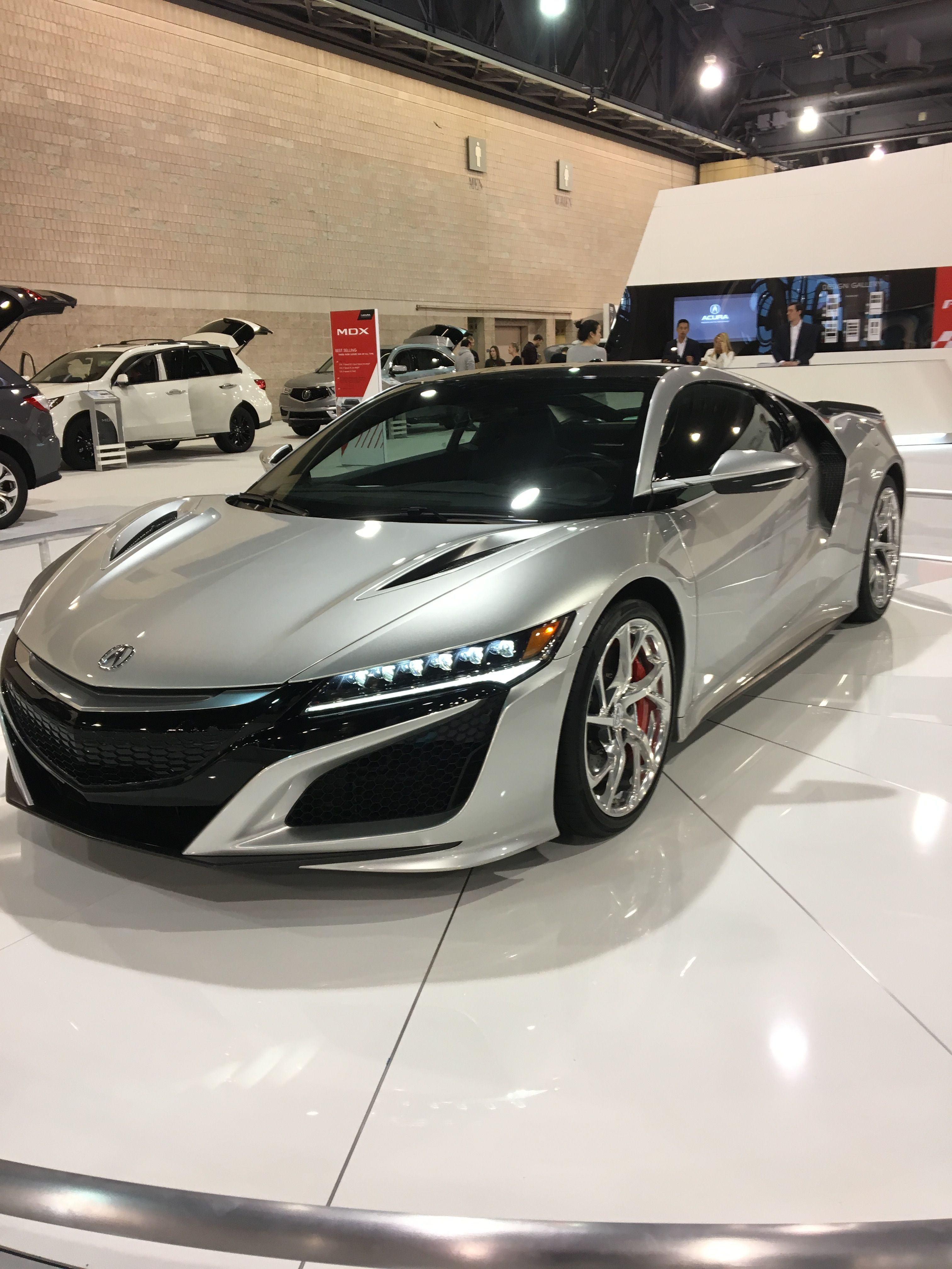 2018 Acura Nsx Phillyautoshow Nsx Acura Nsx Super Luxury Cars