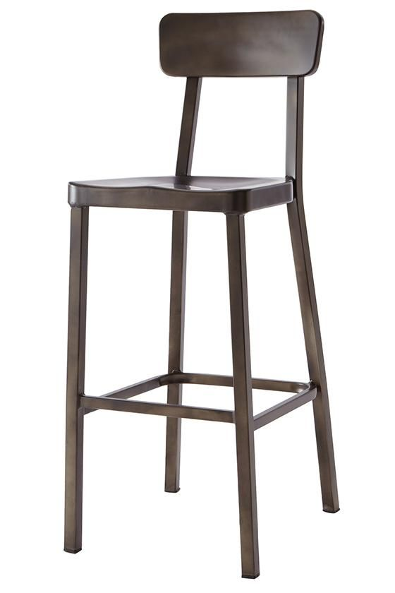 Home Decorators Collection Jacob 30 In Black Bar Stool With Back
