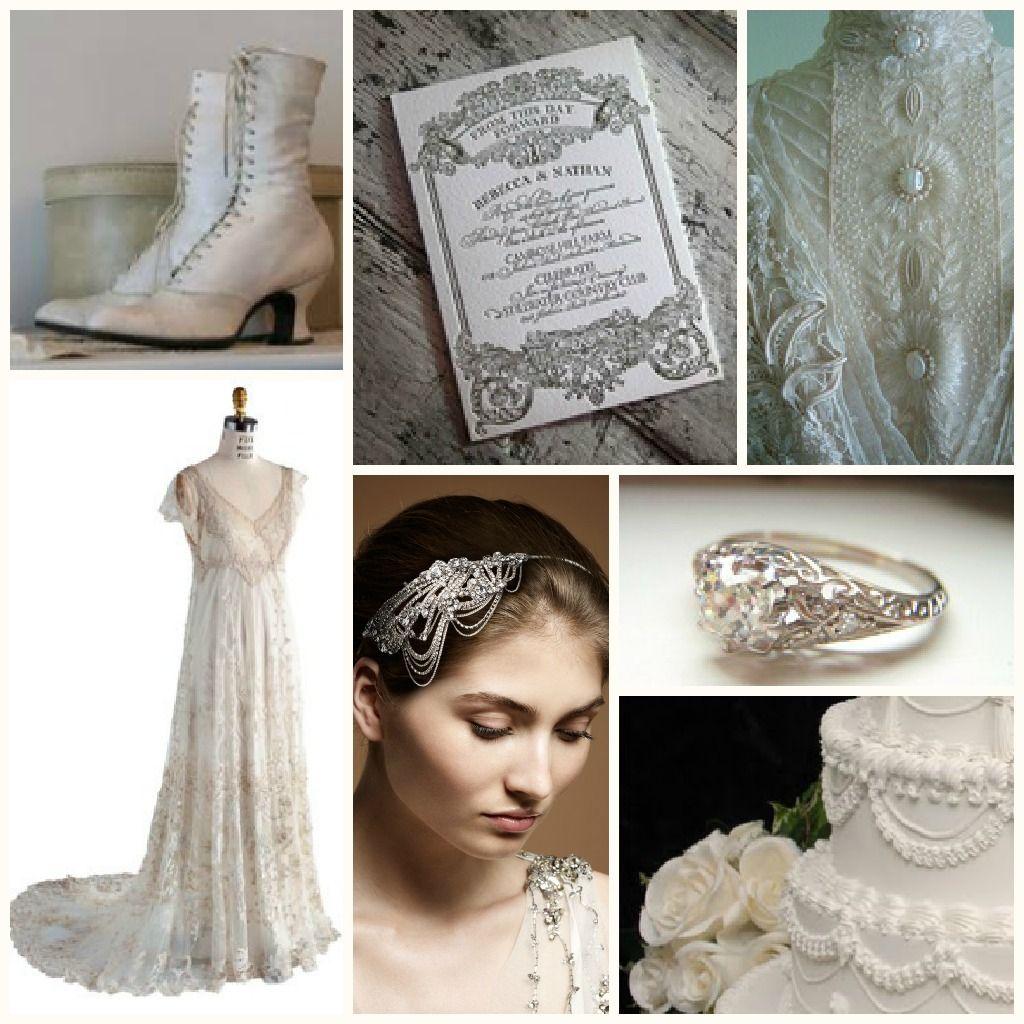 Vintage Edwardian Wedding Downton Abbey Style!