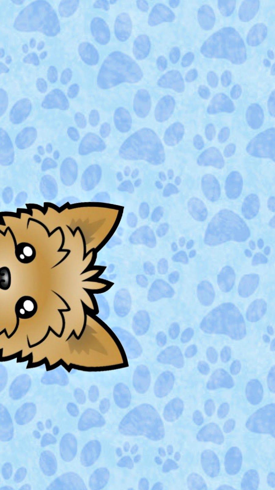 Ipdash dog wallpapers yorkie pinterest wallpaper dog