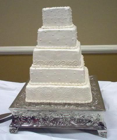 Wedding Cakes Pictures Unusual Square Wedding Cake Pictures