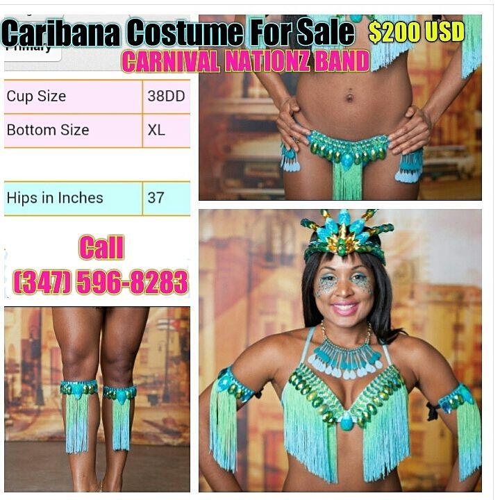 TORONTO CARNIVAL Costume For Sale $200 USD MAS BAND
