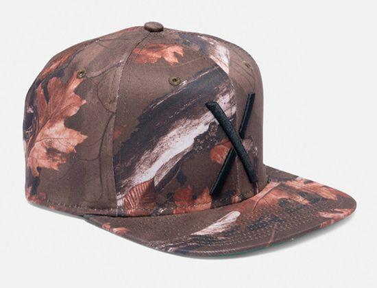 35088bd374c Hunting Camo Living Larger Snapback Cap by 10 DEEP