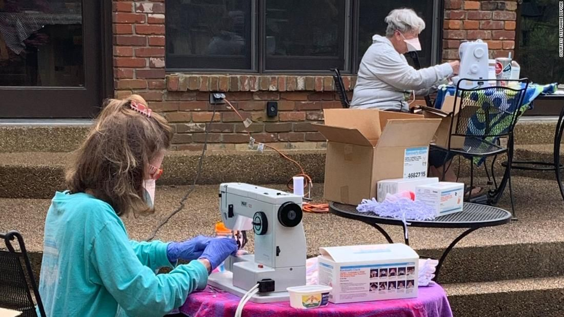 Volunteers fixed 20,000 N95 masks for Memphis hospital in