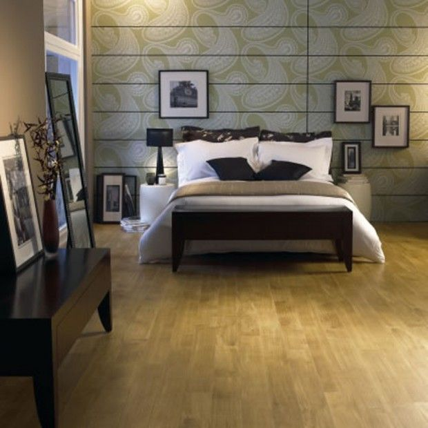 Contemporary Flooring Tiles Design For Home Bedroom Interior Decorating By  Amtico, Golden Oak .
