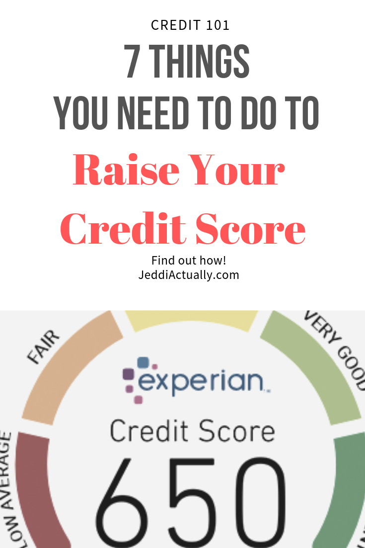 what can i do to raise my credit score