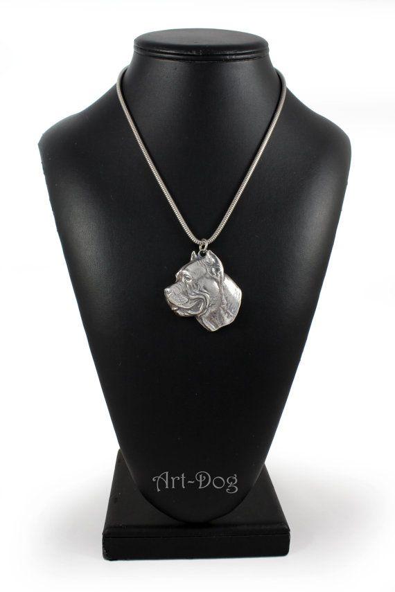 PRESTIGE set Dog keyring for dog lovers ArtDog pin and clipring in casket limited edition necklace NEW dog keyring Bull Terrier