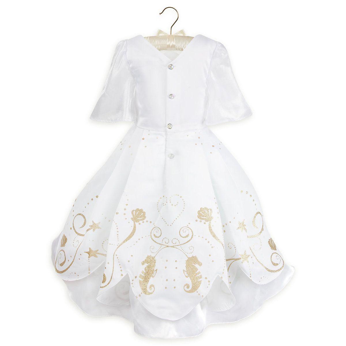 Ariel Designer Wedding Gown Costume For Kids Designer Wedding
