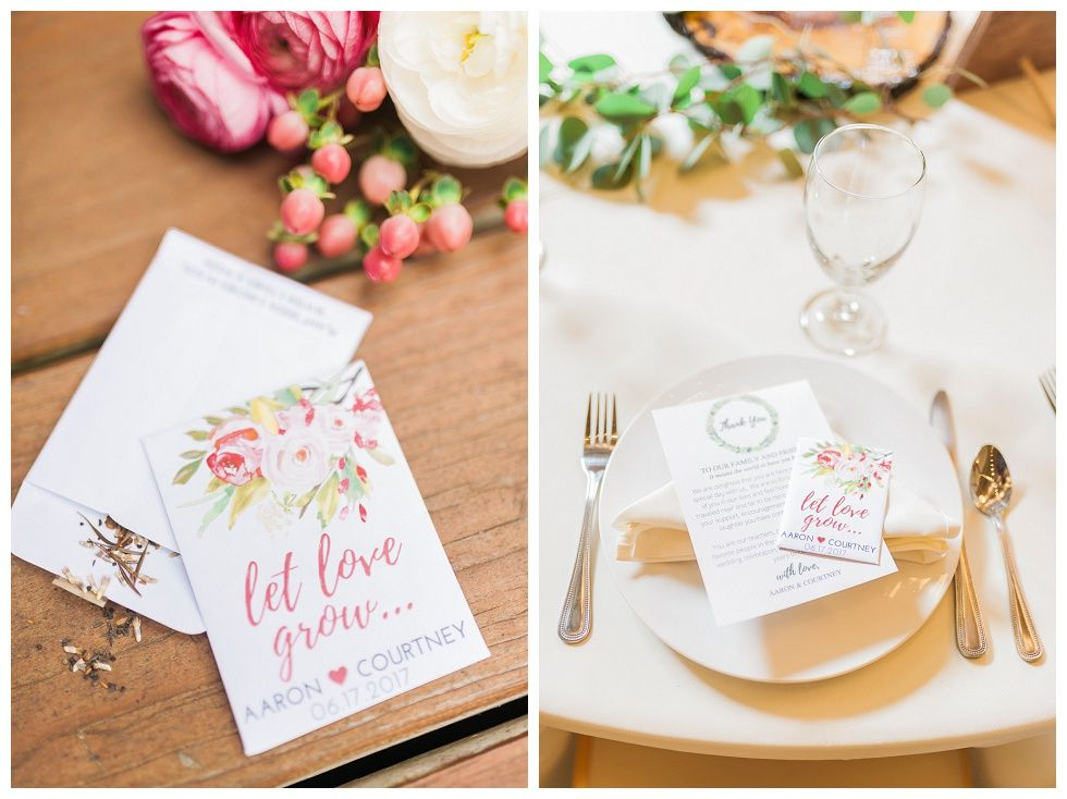 Great wedding favor idea seed packets for