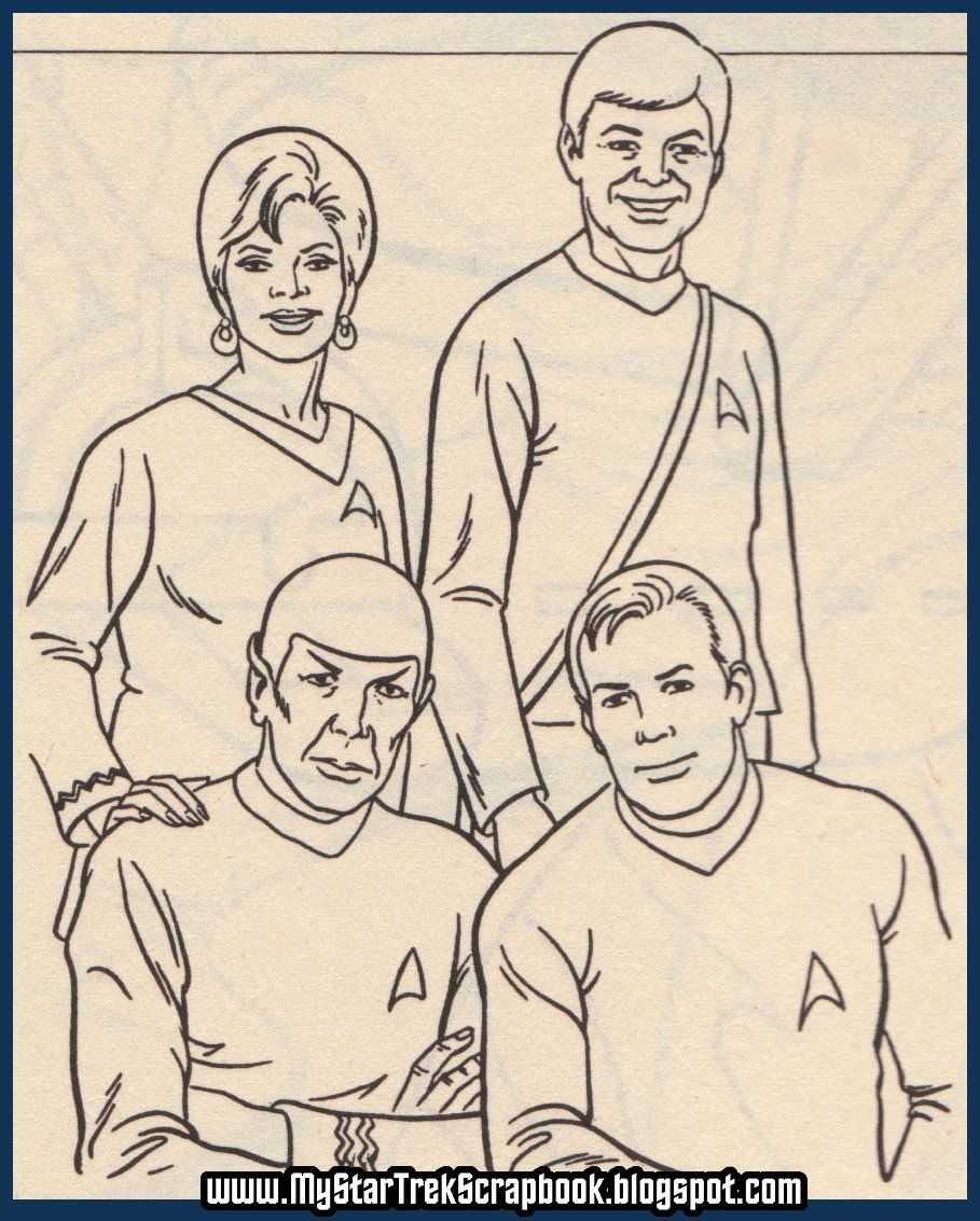 star trek page coloring sheets know that if you have any vintage star trek coloring - Star Trek Coloring Book