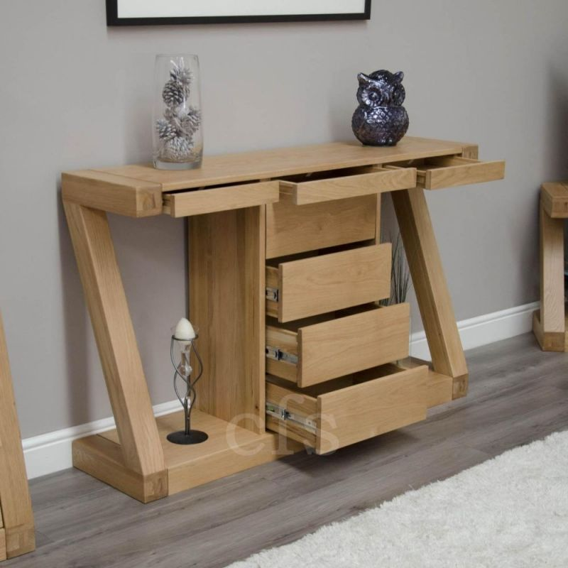 Fabulous Homestyle Gb Z Designer Oak Console Table In 2019 Hall Gmtry Best Dining Table And Chair Ideas Images Gmtryco