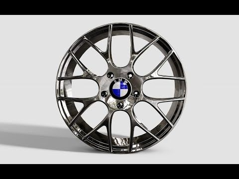Autodesk Inventor - BMW M5 Rim DesignTutorial - YouTube