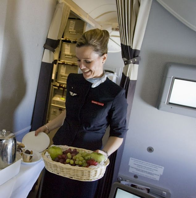 Air France Flight Attendants Making the Sky the best place on earth