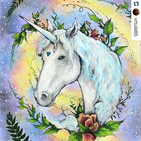 Magico By Vrtule85 Podrugiejstroniesnu Karolinakubikowska Livrodecolorir Colouringbookforadults Artterapy Desenhoscolorir Unicorn Unicornio See