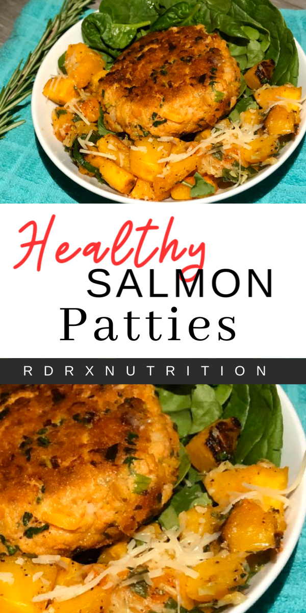 Healthy Salmon Patties Rdrx Nutrition Salmon Patties Healthy Healthy Salmon Spicy Recipes