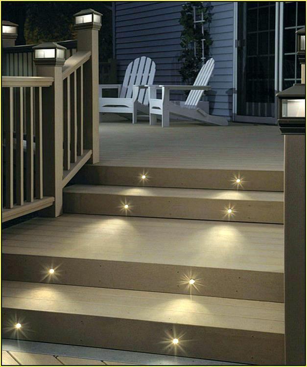 Solar Stair Lights for Deckdeck