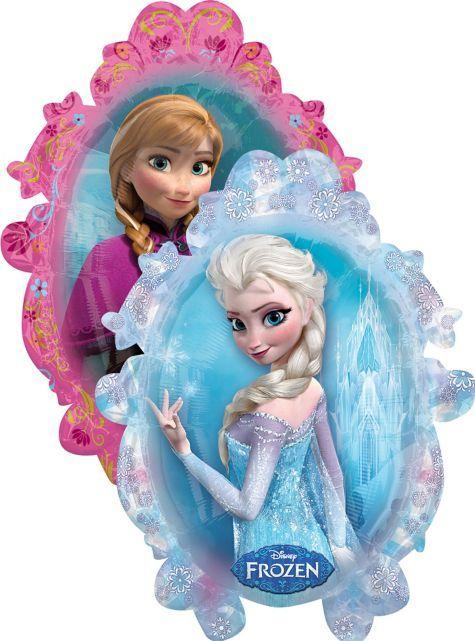 Frozen Balloon Giant Frozen balloons Frozen birthday party