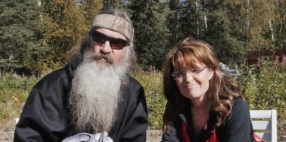 Image result for phil robertson sarah palin