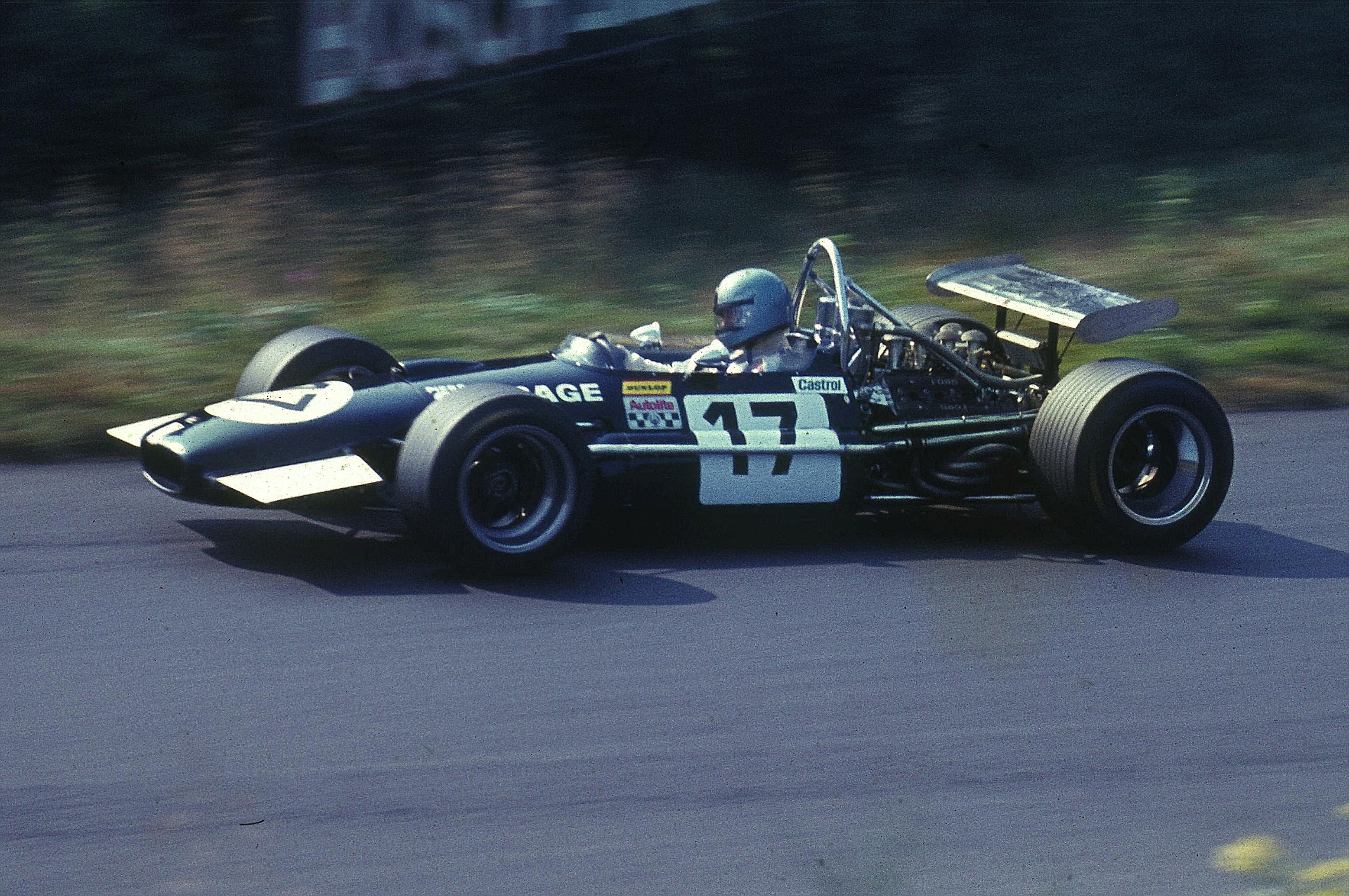 Piers Courage Eng Brabham Ford 1969 Historic Racing Racing