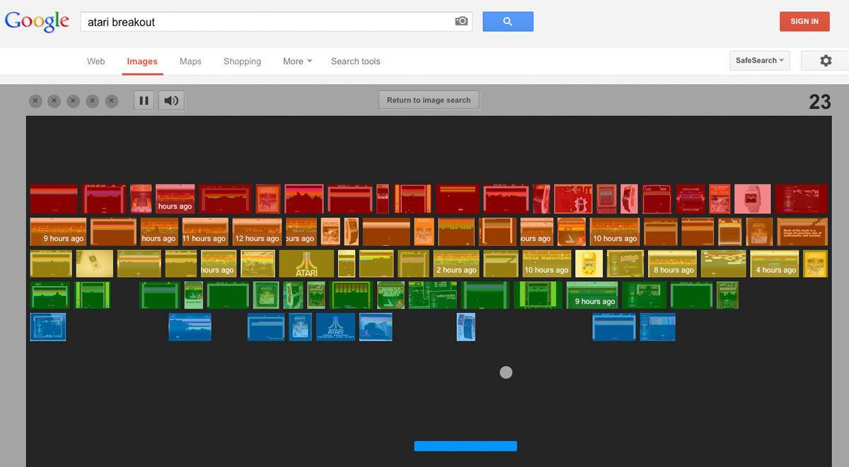 Google Commemorates Atari Breakout S 37th Anniversary With