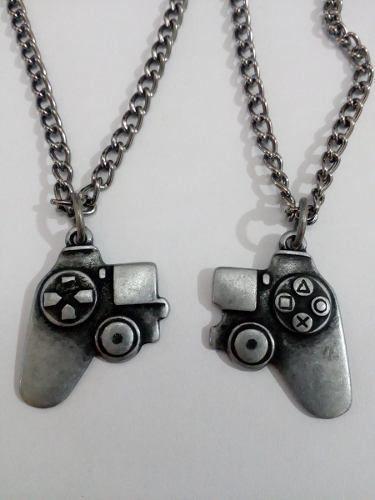 20de5e1fa88 colar duplo joystick controle playstation amizade namorados ...