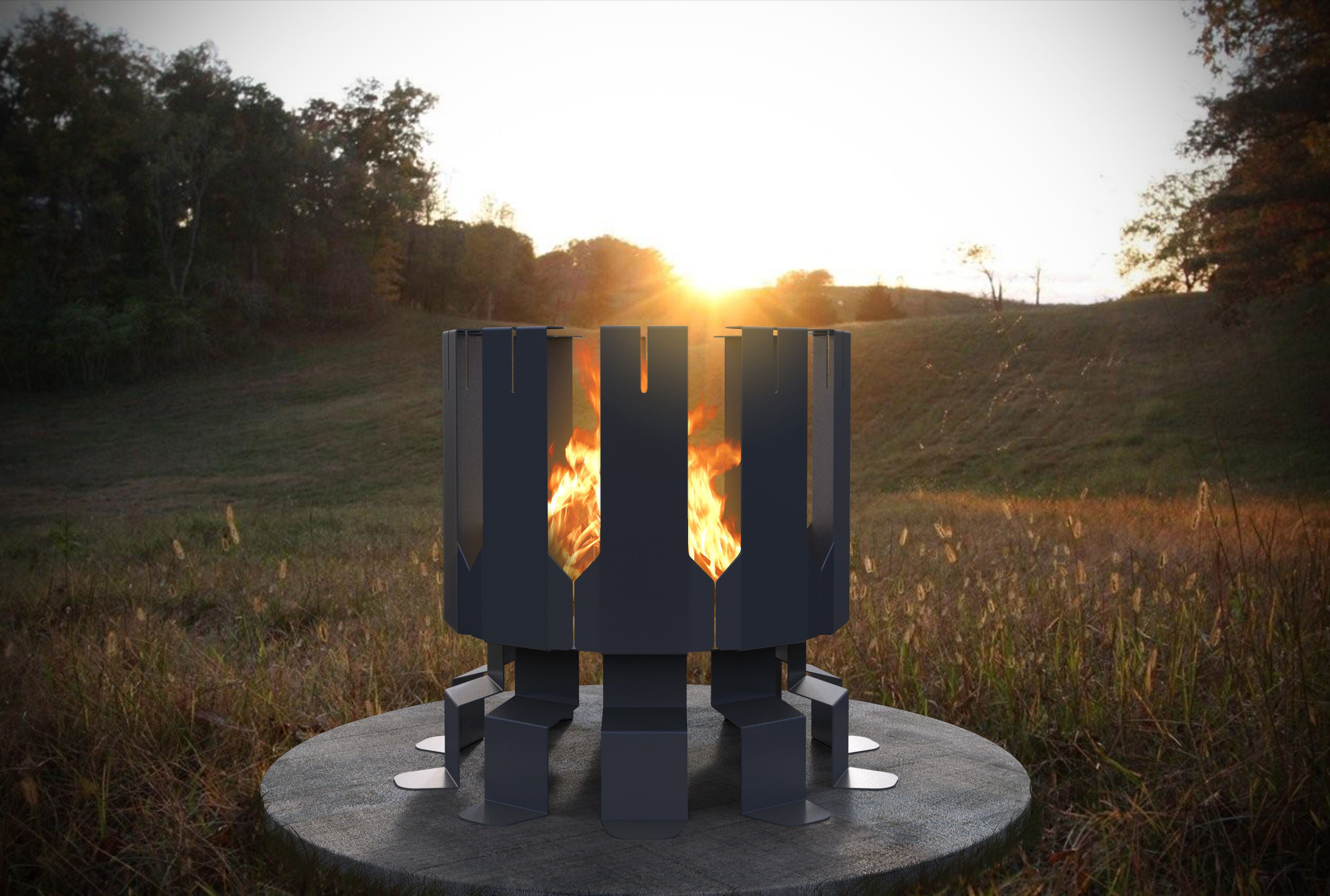 05af709bc3a7246aadbd5ba7cc602be3 Top Result 50 Awesome Steel Outdoor Fireplace Gallery 2018 Hiw6