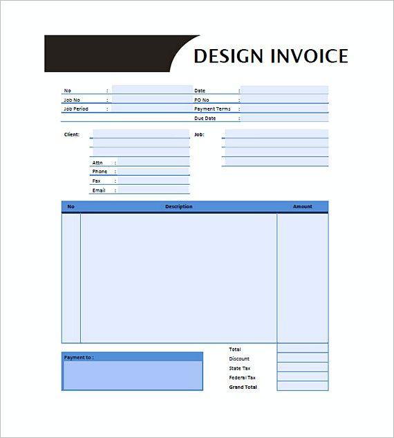 Graphic Design Invoice Templates Graphic Design Invoice Template Getting The Amazing Graphic Invoice Template Invoice Design Template Invoice Template Word