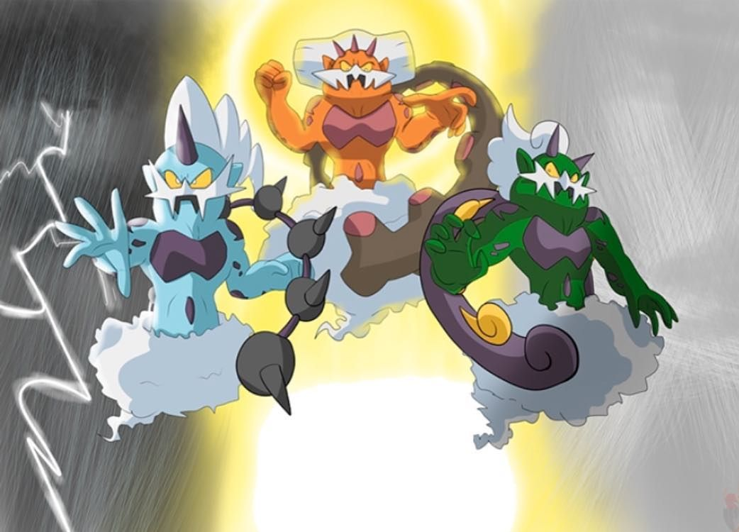 Tornadus, Thundurus and Landorus. Which one is your ...