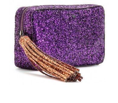 Anya Hindmarch Twinkle glitter clutch  806c1821501e