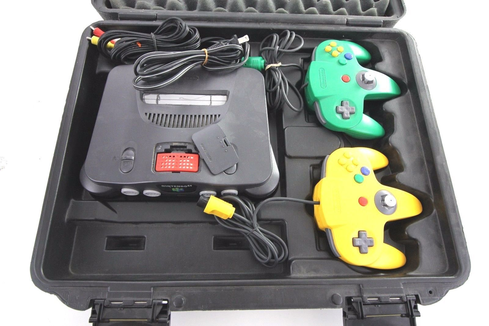 Pelican Case Custom For Nintendo 64, Comes With N64 Console W/ 2 ...