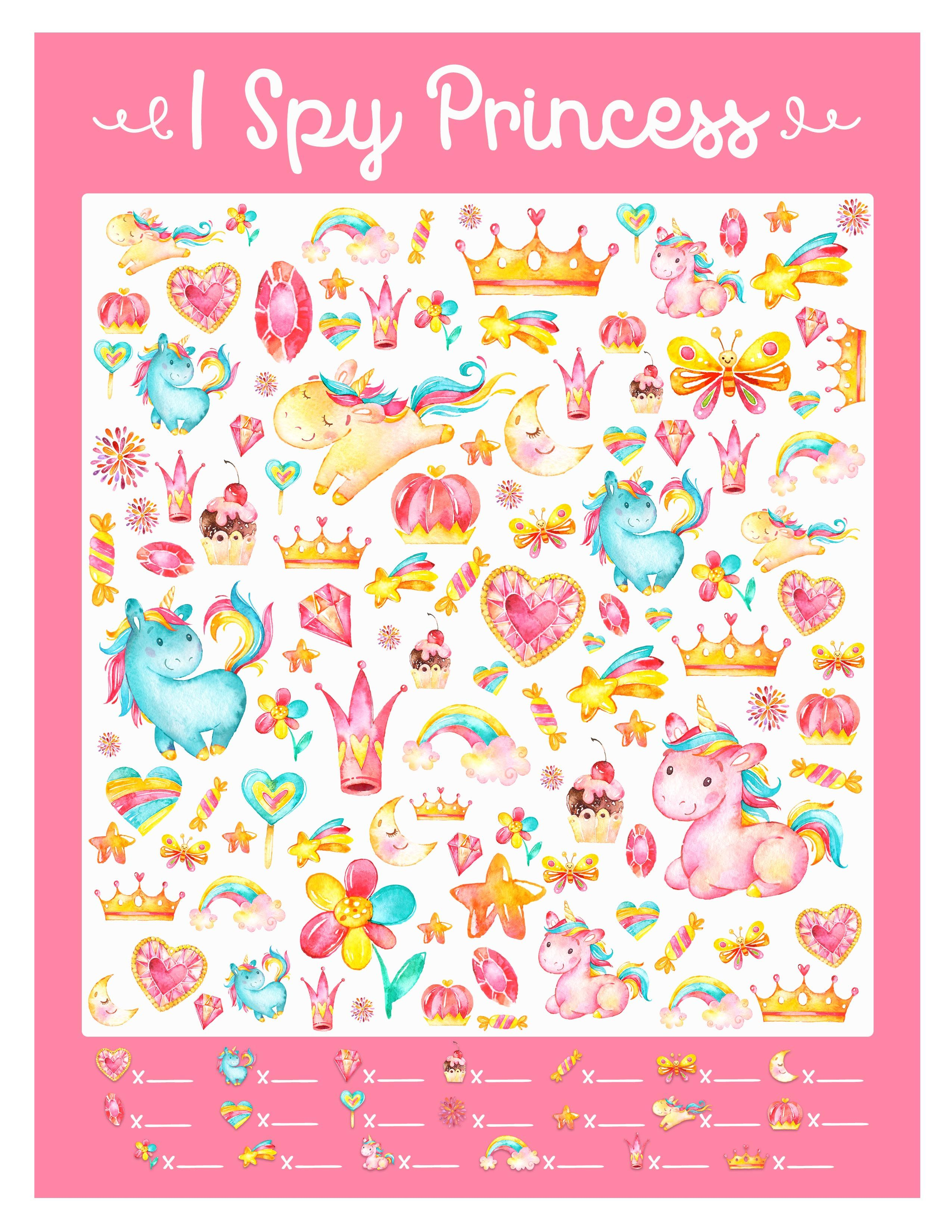 Friday Activity Princess Worksheets With Images
