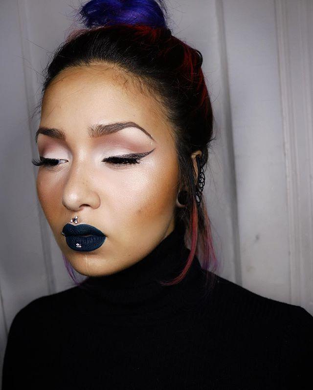 """Young attitude"" retro matte liquid lip colour @maccosmetics #live #love #life #happiness #shainaeve #makeup #makeupartist #nyc #mac #maccosmetics #inked ..."
