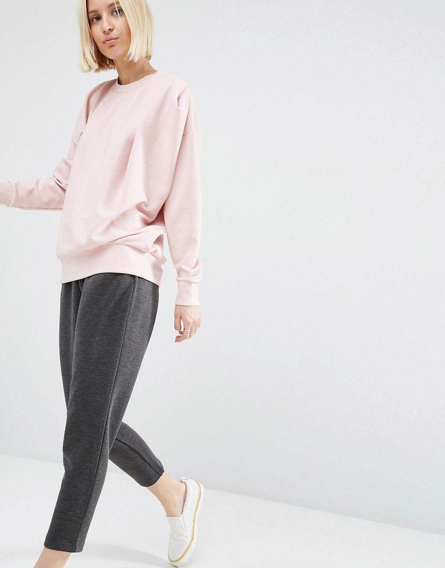 Image 4 ofASOS WHITE Tuck Detail Sweater