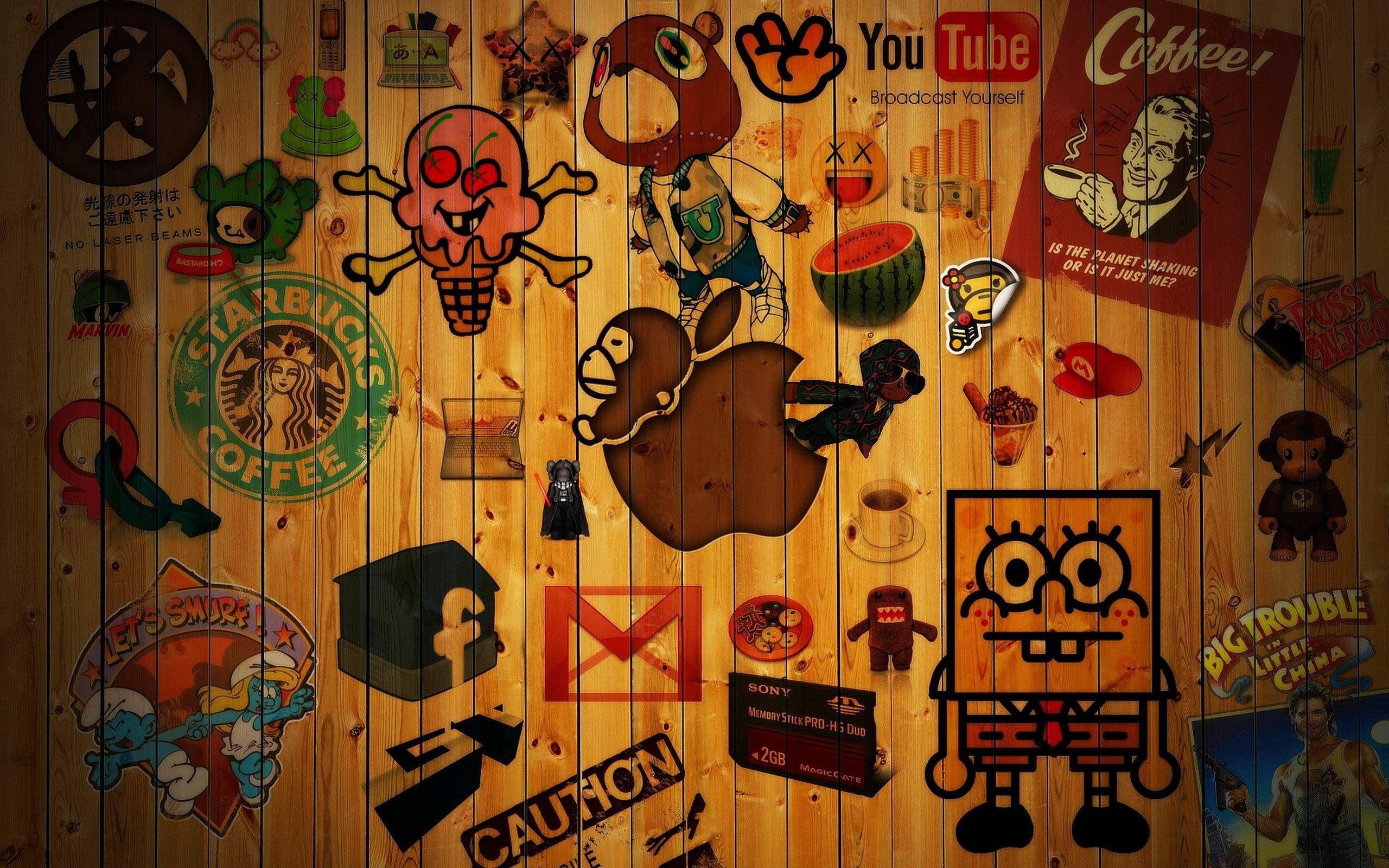 Beautiful Funky Wallpapers for Laptop (Dengan gambar