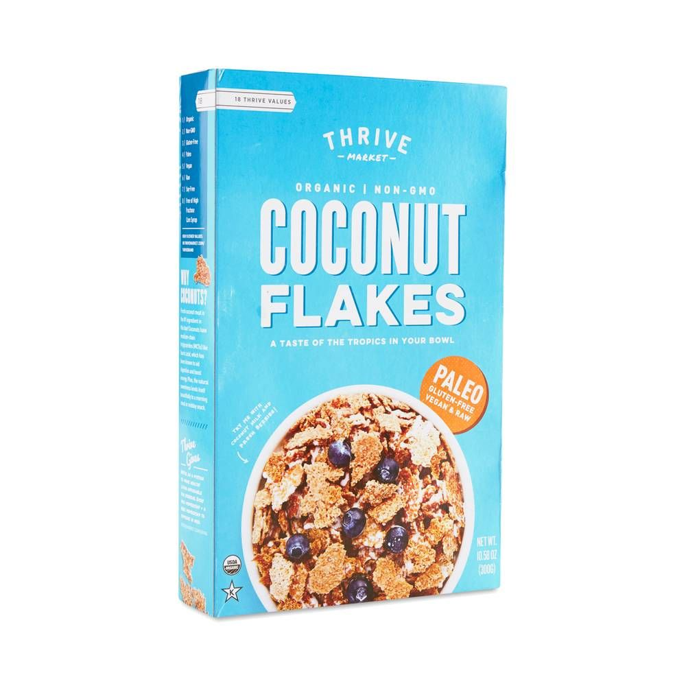 Organic Coconut Flakes Cereal