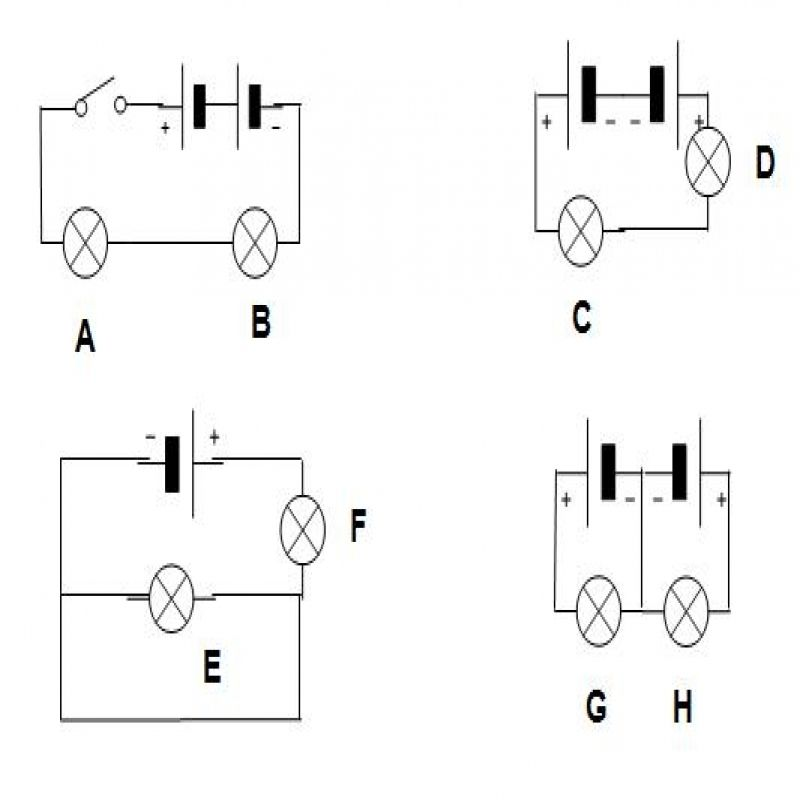 Simple Electric Circuit Diagram For Kids
