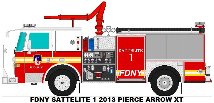 Fdny Sattelite 1 2013 Pierce Arrow Xt Fdny Fire Trucks Fire Equipment
